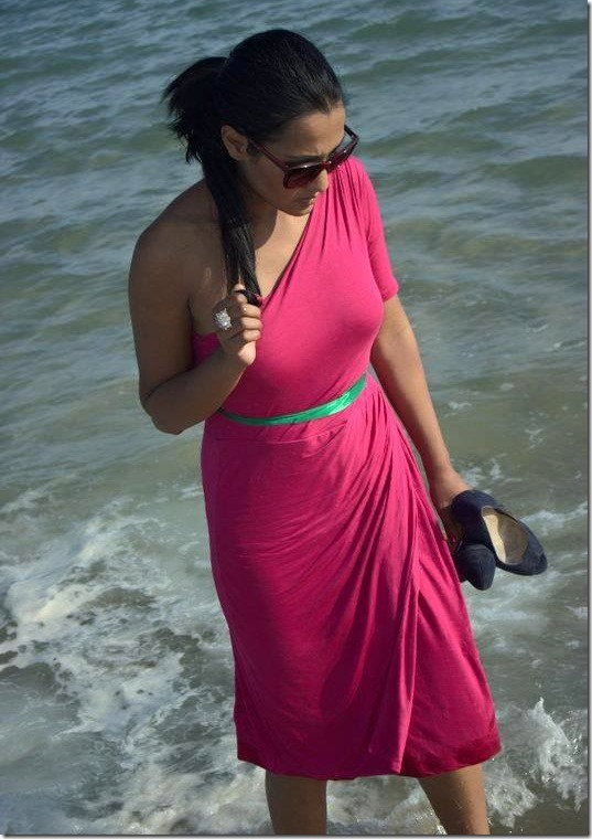 priyanka karki in doha beach