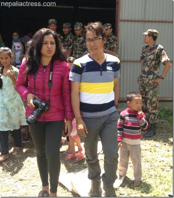 rekha thapa and himgyap lama in chakrapath