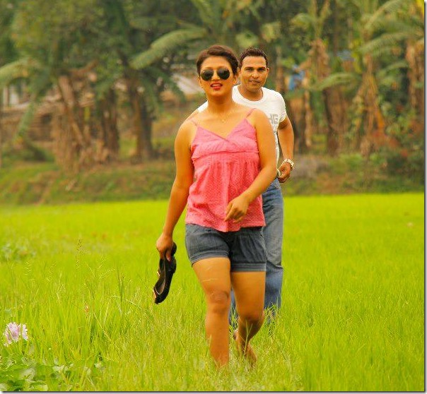 suzana dhakal in music video shooting