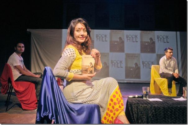karishma manandhar shows zukerberg cafe