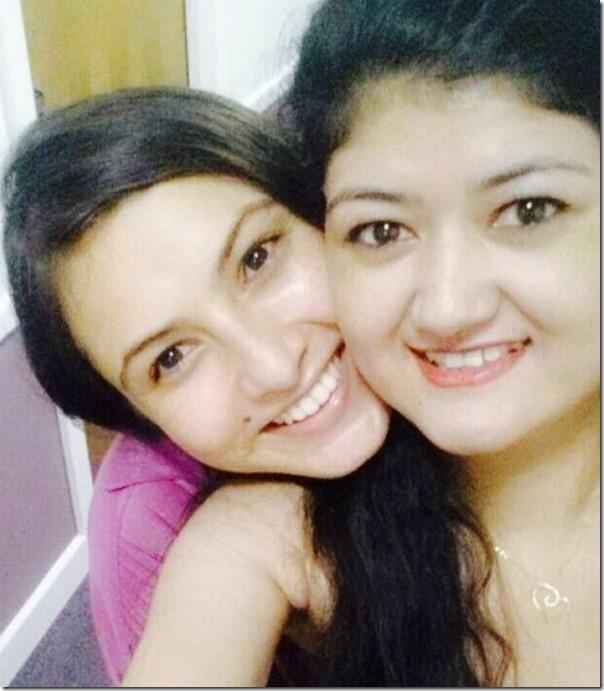 nisha adhikari and sabrina abu dhabi trsnsit