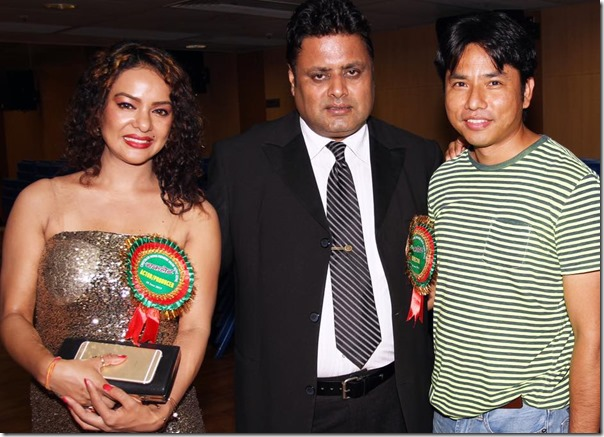 poojana pradhan in hongkong with nirmal sharma and