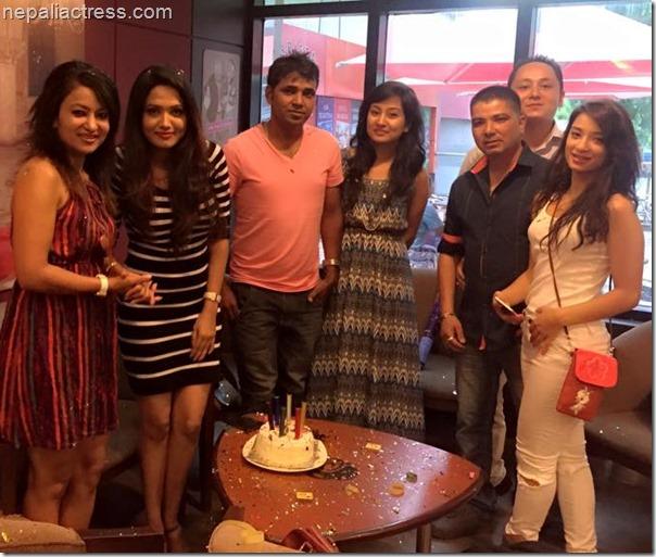 Indira Joshi birthday 20151