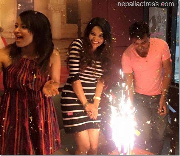 Indira Joshi birthday 20153