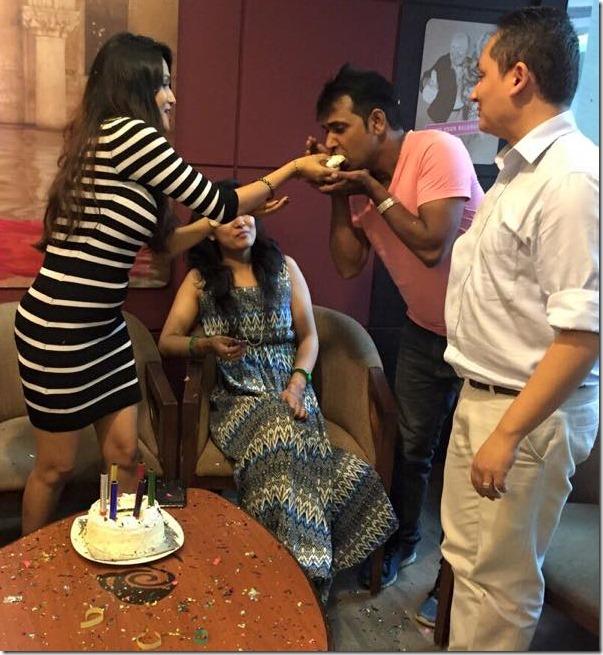 Indira Joshi birthday 20154