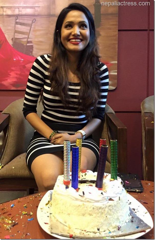 Indira Joshi birthday 20156