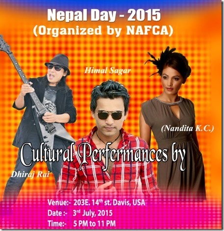 nepal day poster