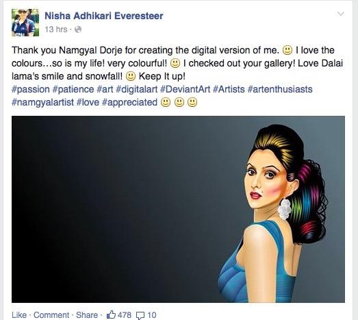 nisha adhikari - art