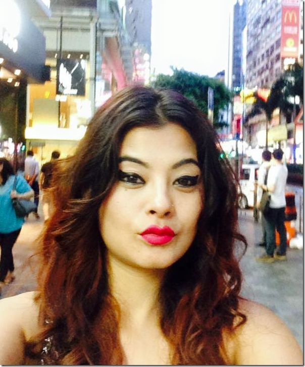 sushma karki in hongkong july 20151