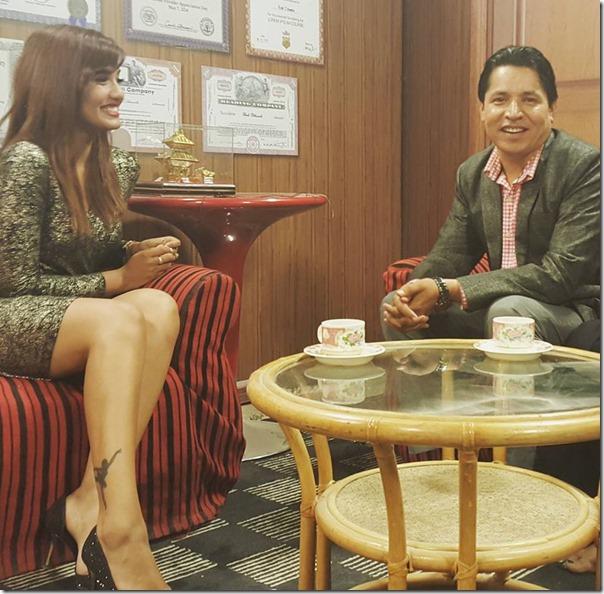 priyanka karki with rishi dhamala interview