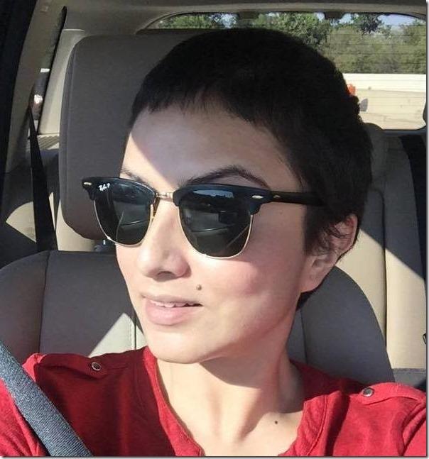 nisha adhikari hair growning