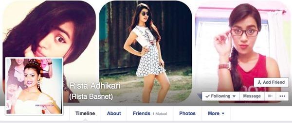 rista basnet adhikari facebook