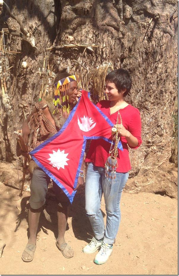 nisha adhikari african safari1