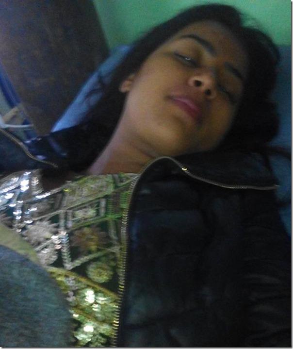 rista basnet at hospital on deepawali