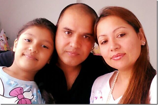 sarita lamichhana with her husband rishi and daughter
