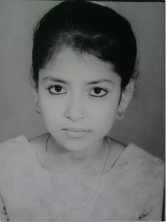 sarita lamichhane childhood photo