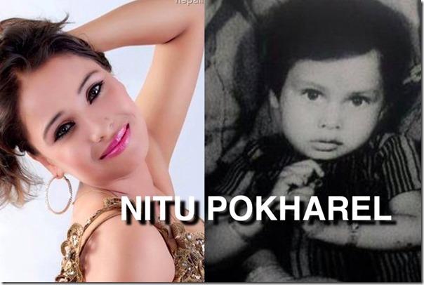 NITU POKHAREL CHILDHOOD PHOTO