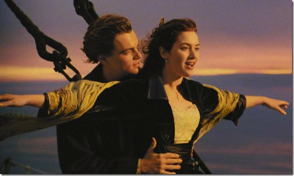 Titanic kate winslet and de capri