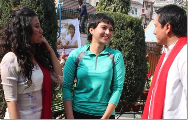nisha adhikari  directs menuka pradhan and gajit bista music video