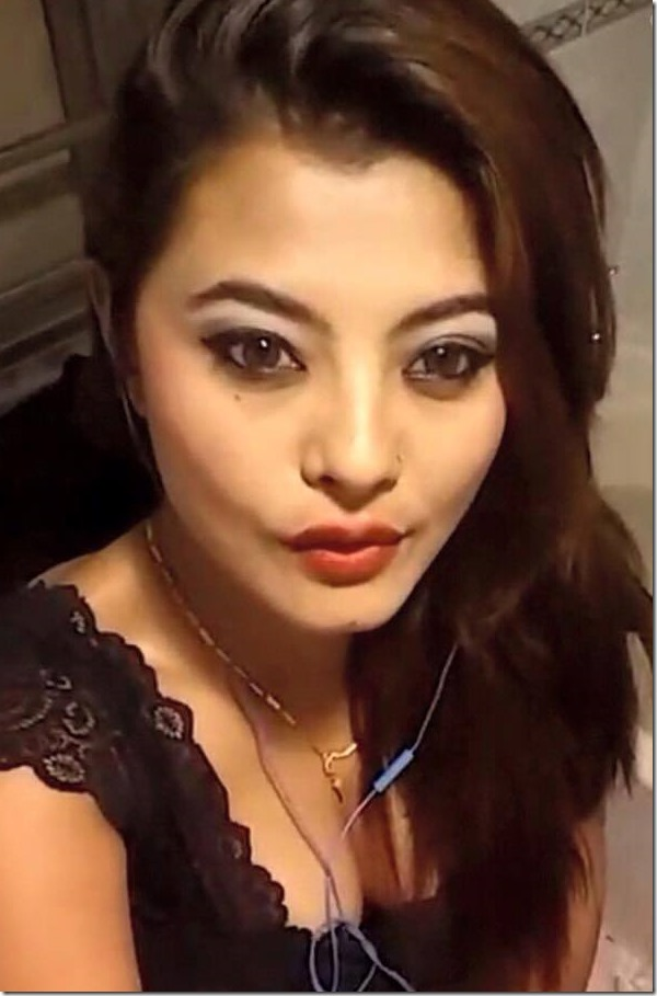 sushma karki duck face