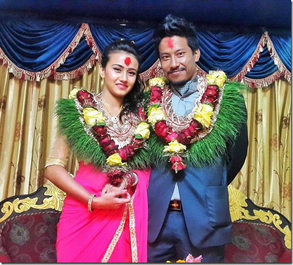 swastima and nischal basnet engagement