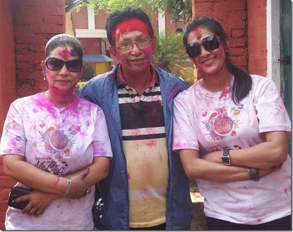 Holi - karishma manandhar home13