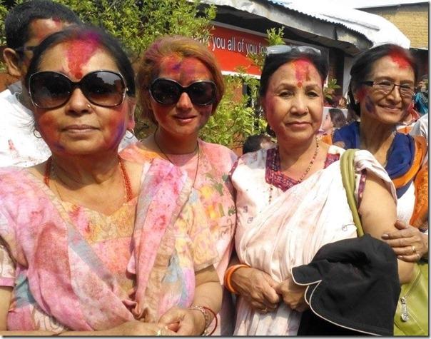 holi at karishma