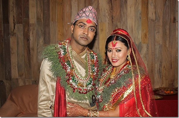 Image result for harshika shrestha with husband