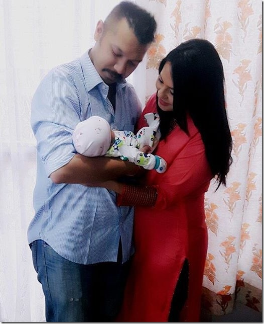 malvika subba child birth