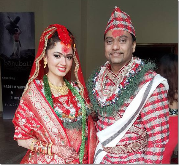 simpal khanal and nadeem marriage