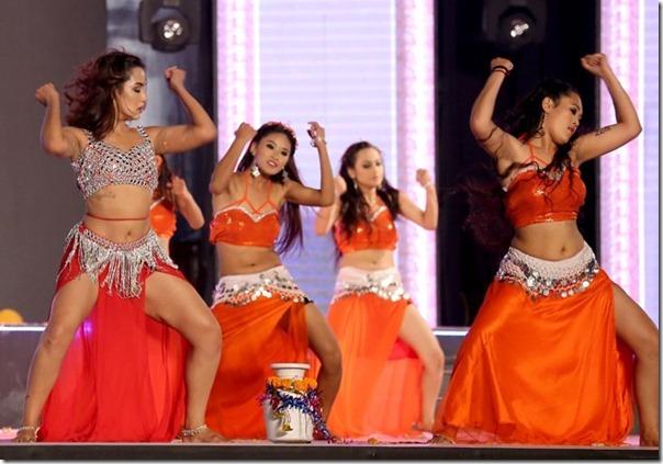 priyanka karki dancing in amarpanchi