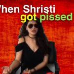 shristi shrestha angry in chitwan