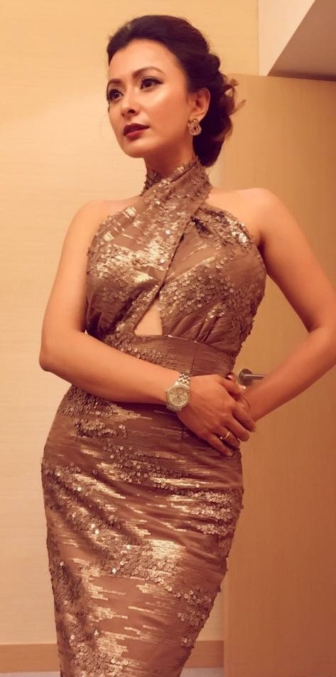 namrata shrestha in sexy outfit in Hongkong