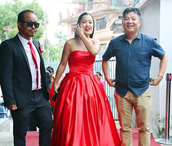 Diya pun with milan chams and dayahang rai bir bikram premier