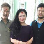 krishna malla and sharmila malla dashain