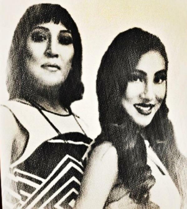 paramita rl rana with mother riya rana