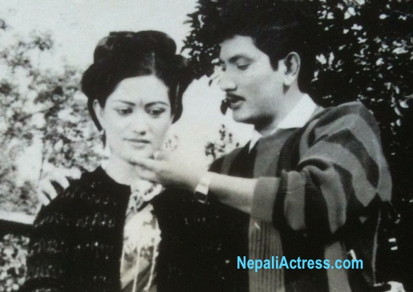 sharmila malla and krishna malla shooting photo ancient