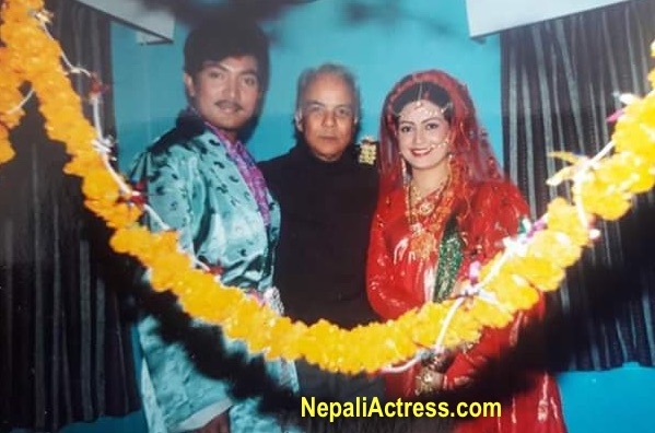 sharmila malla and krishna malla with kanchhi director bs thapa
