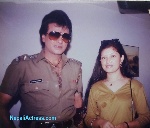 sharmila malla with dharmendra bollywood actor