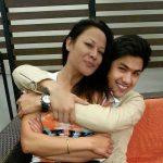 sushmita kc with son anmol kc