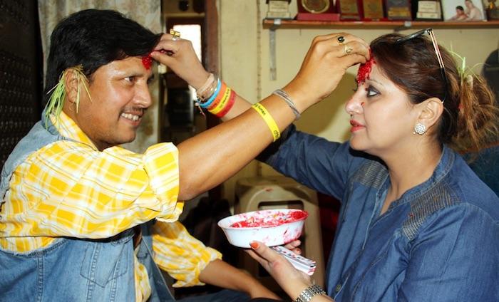 deepak-raj-giri-and-deep-shree-niraula-dashain-2016-tika