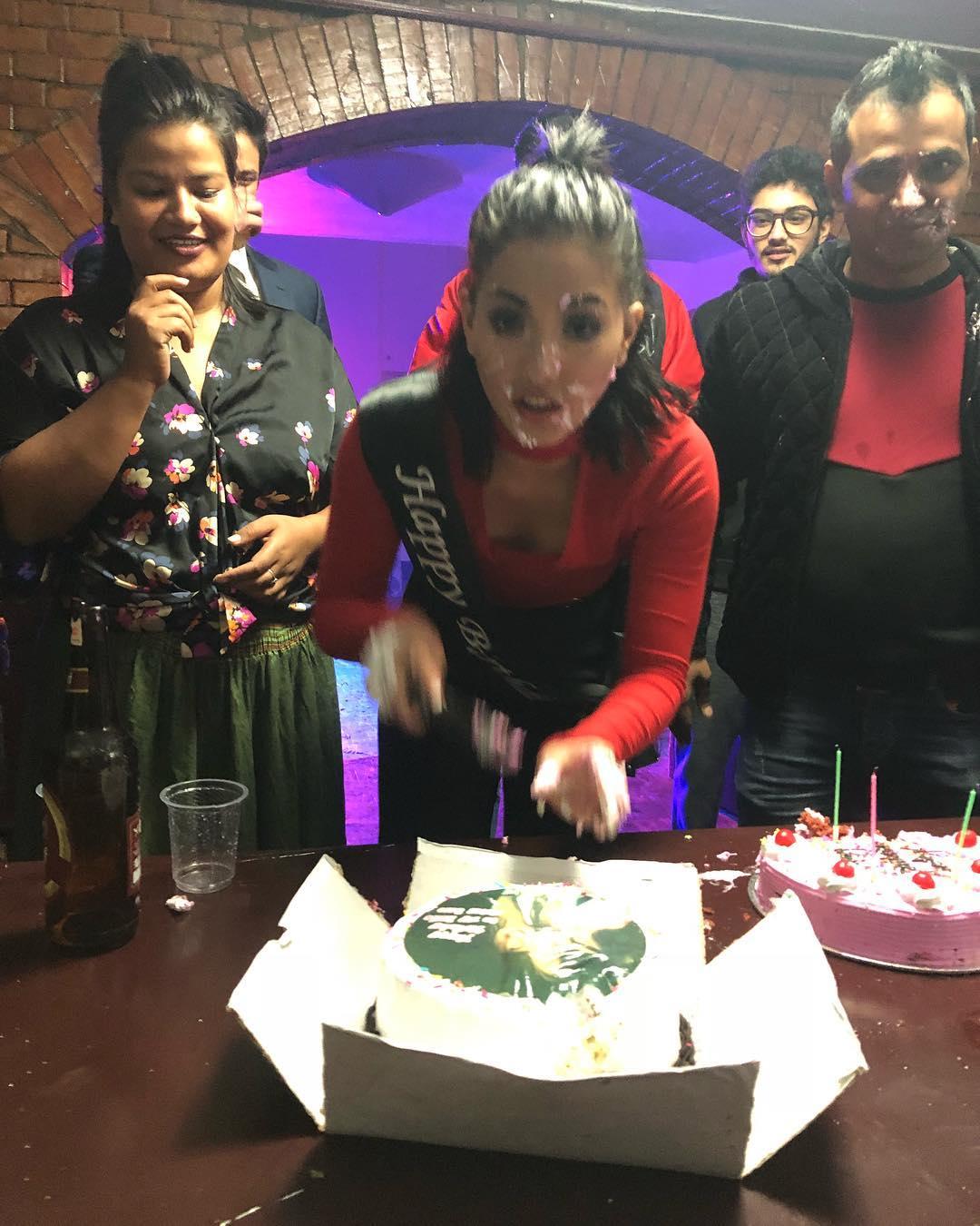 Samragyee RL Shah 23rd Birthday Celebration With Her New Boyfriend, Devanksh Rana